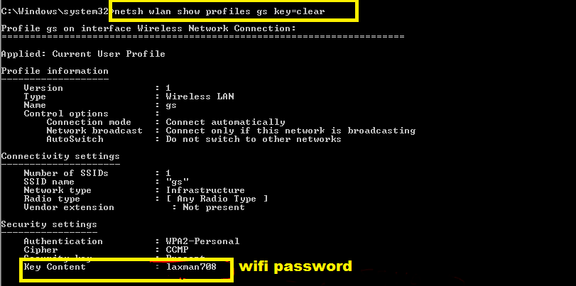 how to hack wifi password on laptop windows 10 without any software